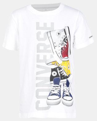 6b80597ab742 Converse Cnvb Pile Em Up Sneaker Tee White