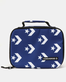 Converse Can Mills Lunch Tote Blue Lagoon