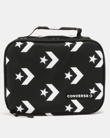 Converse Can Mills Lunch Tote Black/White