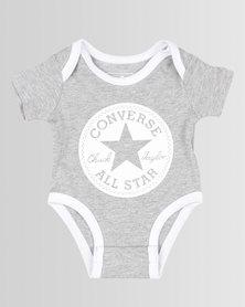 Converse Chuck Taylor Short Sleeve Creeper Dark Grey Heather
