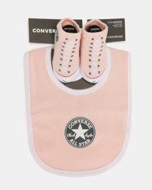 Converse Chuck Bib & Bootie Pink