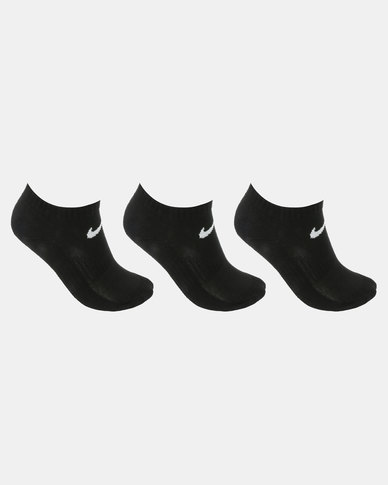 Nike Performance Dri-Fit Basic No Show Socks Black