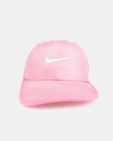 Nike Nan Graphic Featherlight Cap Pink  0d9cc781dcc