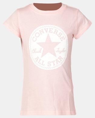 f3a45149af89b6 Converse CNVG Chuck Taylor Sig Tee Converse Storm Pink