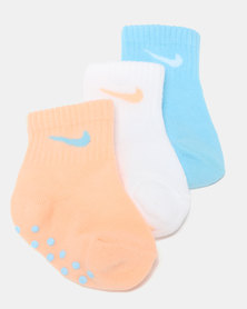 Nike Girls Gripper Socks Multi