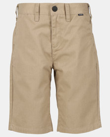 Hurley One & Only Woven Walkshorts Khaki