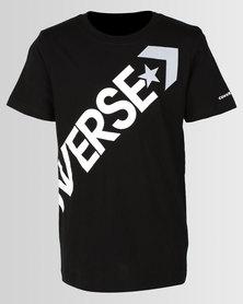 Converse Crossbody Tee Black