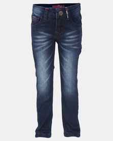 Soviet Boys Jerry Skinny Denim Jeans Blue
