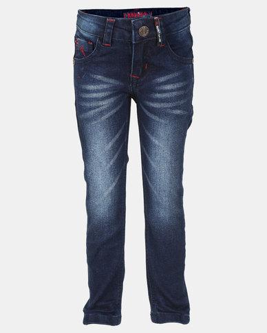 cedae5985 Soviet Boys Jerry Skinny Denim Jeans Blue | Zando