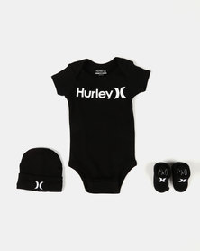 Hurley The One & Only Baby Set Black
