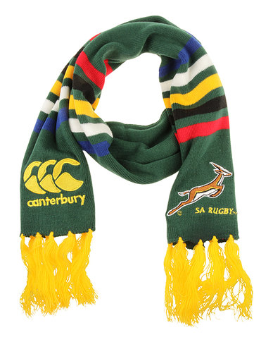Canterbury Springbok Acrylic Striped Scarf Multi