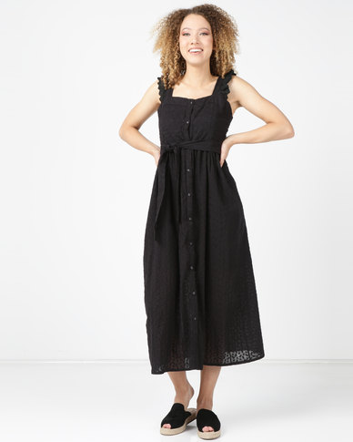 Utopia Anglaise Dress Black