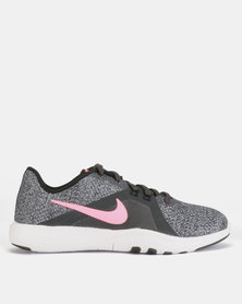 Nike Performance W Flex Trainers 8 ANTHRACITE/SUNSET PULSE-BLACK-COOL GREY