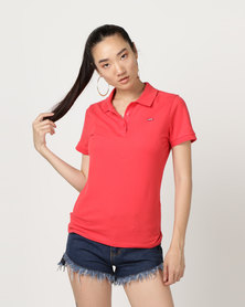 Levi's ® Slim Polo Shirt Poinsettia