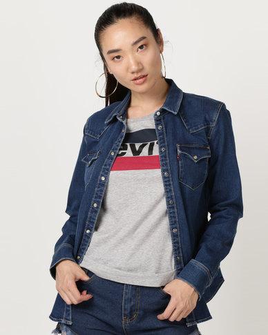 Levi's ® Ultimate Western Shirt Blue