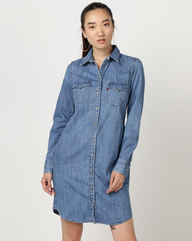 d5c9a9b42c Levi s ® Ultimate Western Dress Blue