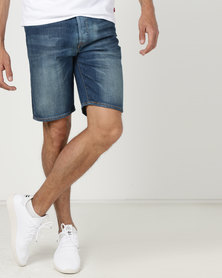 Levi's ® 501® Hemmed Shorts Blue