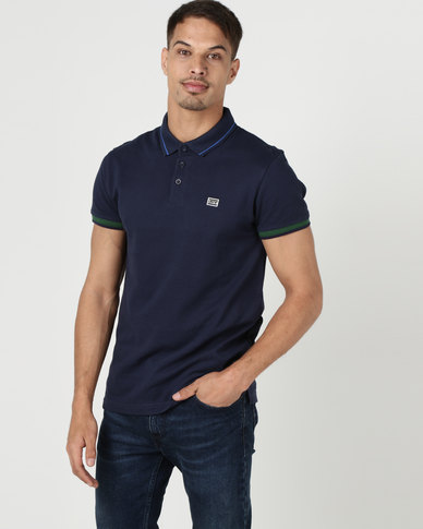 Levi's ® Breaker Logo Polo Blue