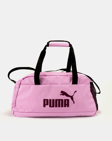 ca3a426284 Puma Sportstyle Core Phase Sport Bag Pink