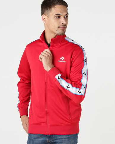 Converse Star Chevron Track Jacket Red  2a0f7d4f5