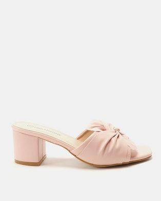 3e281010e91 Urban Zone Slip On Heels Pink