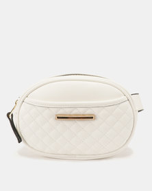 Call It Spring Hilobiscus Hipsack Bag White