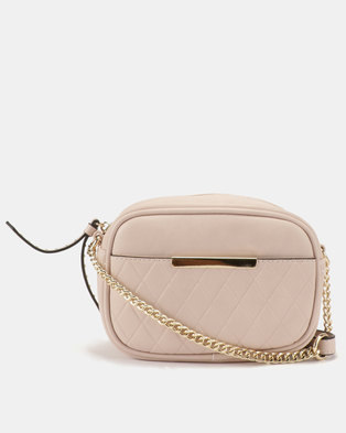 Call It Spring Penmelen Crossbody Bag Black Pink