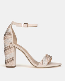 Call It Spring Salidith Heeled Sandals Light Pink