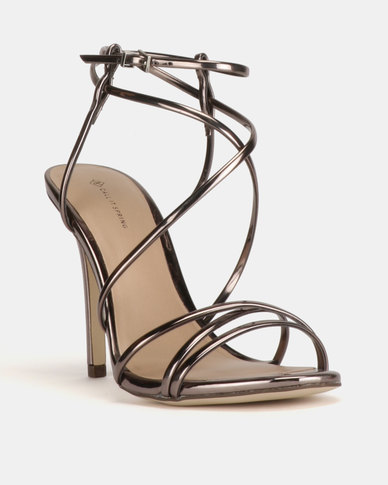 7a9c8ce26 Call It Spring Viravira Heeled Sandals Pewter