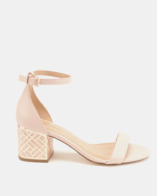 Call It Spring Aferanna Smooth Low-Mid Heels Light Pink