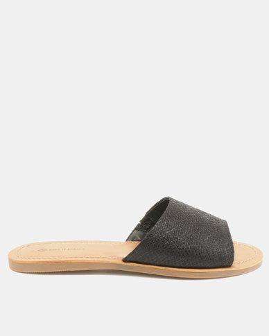 d53fc794a Call It Spring Thirenia Flat Slide Sandals Black