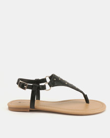Call It Spring Tigolla Flats Black