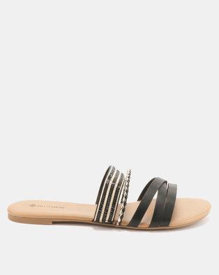 605b248ef Call It Spring Kucerova Flat Slip On Sandals Black
