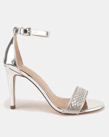 Call It Spring Avan Mirror High Heels Silver