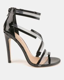 Call It Spring Selliera Strappy High Heel Sandals Black