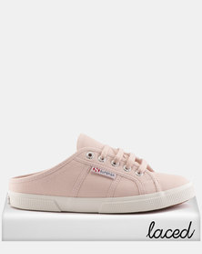Superga Canvas Push Ins Pink Skin