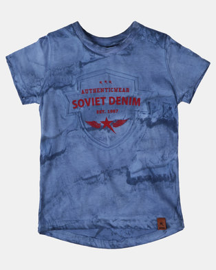 Soviet Boys Oakmont Tee Blue