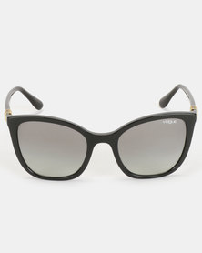 Vogue Butterfly Sunglasses Black