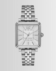 Marc Jacobs Vic Watch Silver-Plated