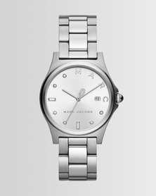 Marc Jacobs Henry Watch Silver-Plated