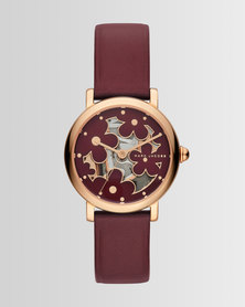 Marc Jacobs Classic Watch Red