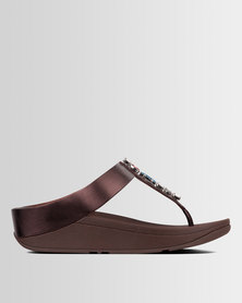 19dbeb8388f7 FitFlop Fino Bejewelled Berry