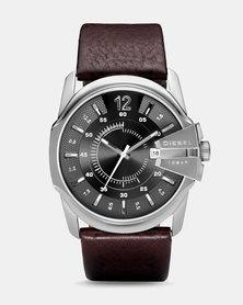 Diesel Chief Series Leather Watch Brown/Black
