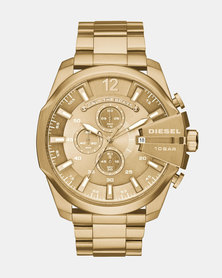 Diesel Mega Chief Watch Gold-Plating