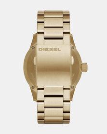 Diesel Rasp Watch Gold-Plated