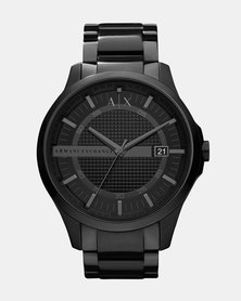 Armani Exchange Hampton Watch Black