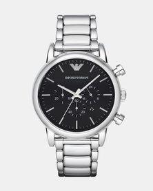 Emporio Armani Luigi Watch Silver