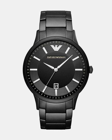 Emporio Armani Renato Watch Black  89a40aa91
