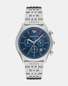 Emporio Armani Zeta Watch Silver