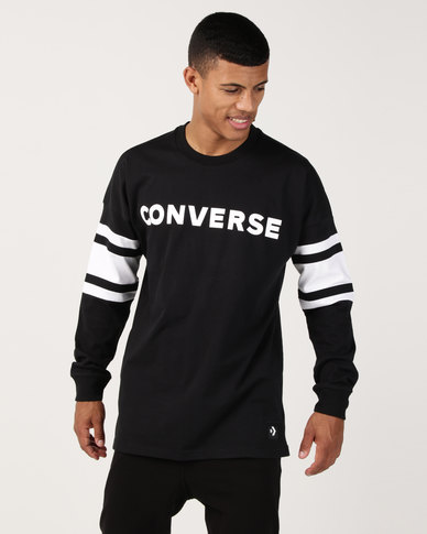 Converse Football Jersey Black